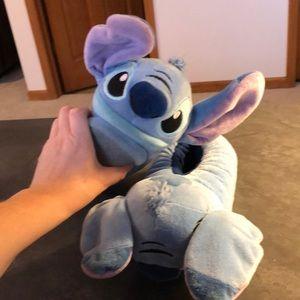 Disney Stitch plush slippers